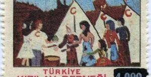 Türk Kızılayın Tarihi Pul Arşivi