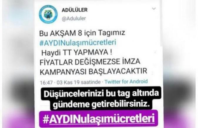 Aydın'daki Üniversite Öğrencilerinin Ulaşım Zammı Tepkisi Çığ Gibi Büyüyor