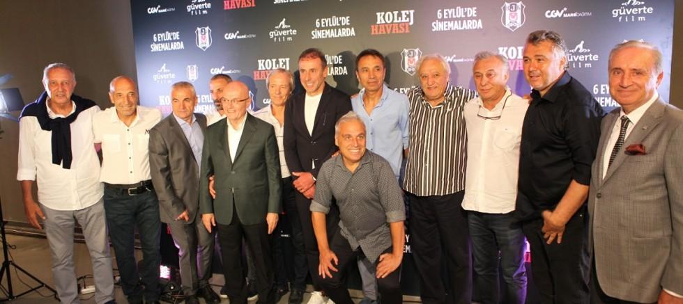 Bir Beşiktaş Filmi'nin Galası Vodafone Park'ta Düzenlendi