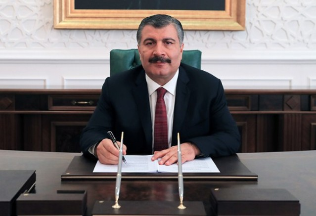 Fahrettin Koca'dan Tarım Bakanı'na Tebrik Mesajı