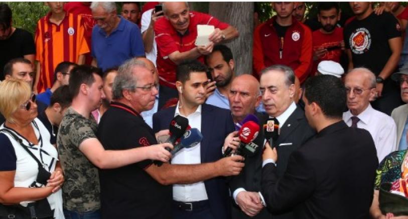 Galatasaray Başkanı Cengiz'den Fatih Terim Açıklaması
