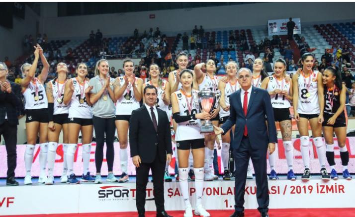 Spor Toto Şampiyonlar Kupası'nda Kupa ve Madalyalar Sahiplerini Buldu