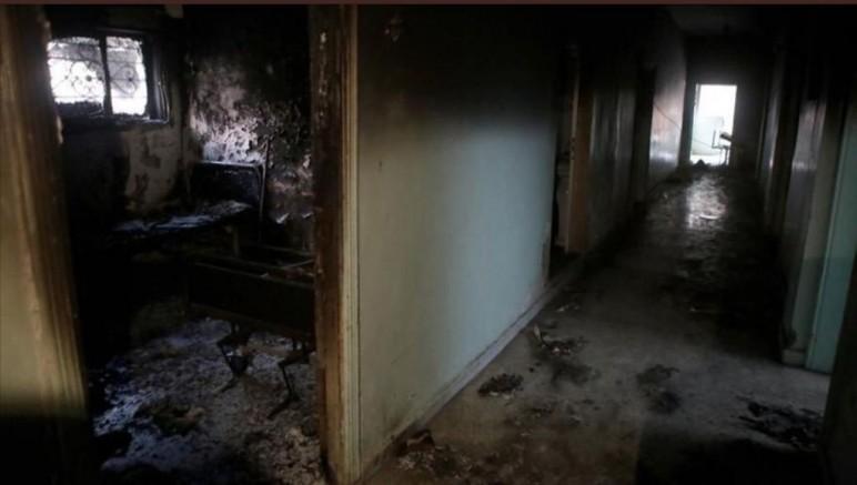 Teröristlerin Yaktığı Hastaneyi Türkiye Onarıp Hizmete Açacak
