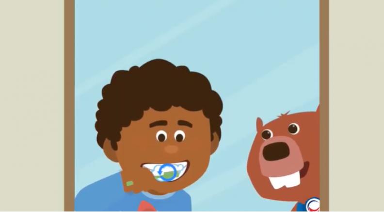 Toothie ve Kunduz Çocuklara Diş Fırçalama Alışkanlığını Anlatacak