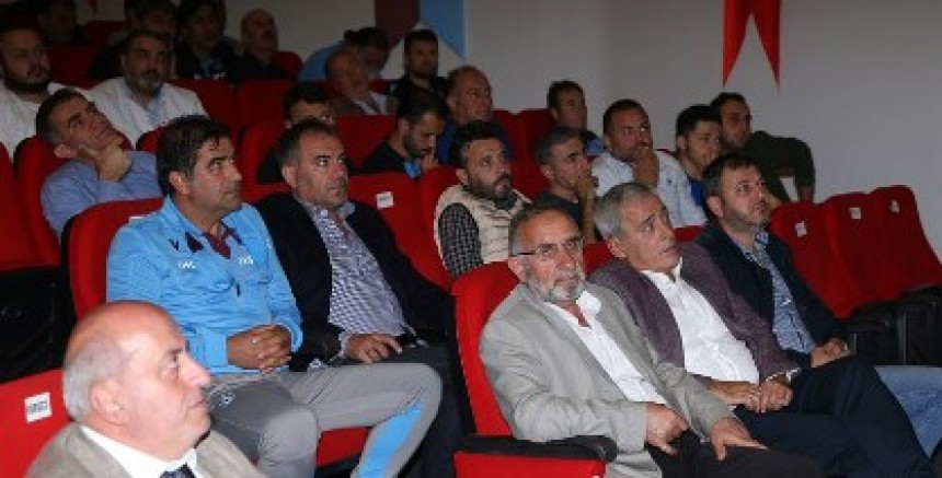 Trabzonspor Teknik Ekibi Temel Yaşam Destek Eğitimi Aldı